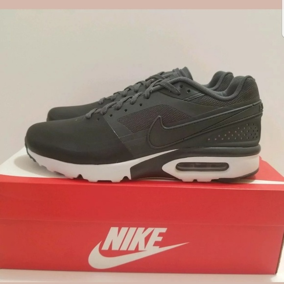 Nike Air Max BW Ultra SE Black White Running Shoes NWT